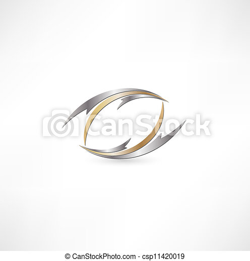 Business abstract icon - csp11420019
