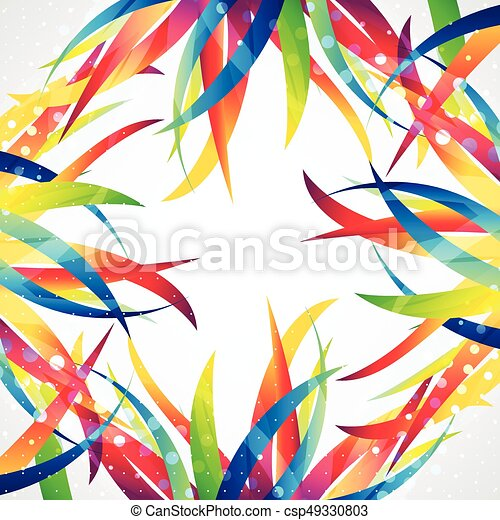 Business abstract wave corporate background. - csp49330803