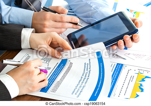 Business accounting - csp19063154