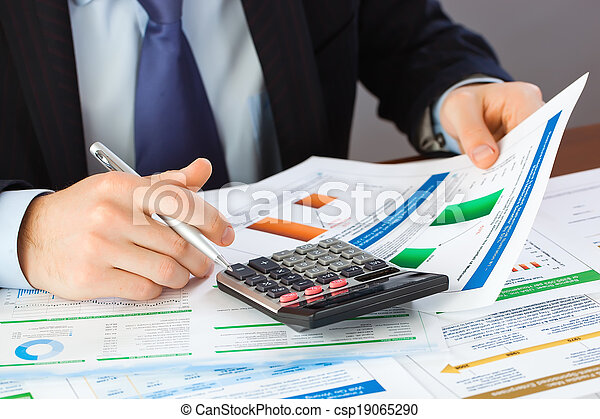 Business accounting - csp19065290