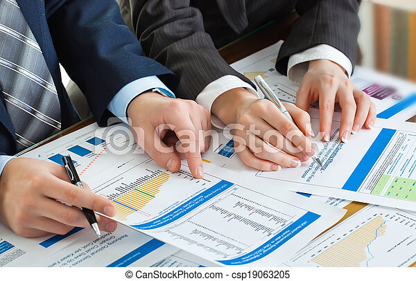 Business accounting - csp19063205