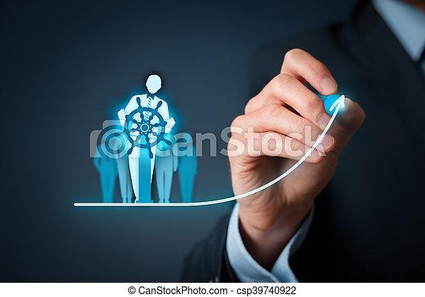 business, amélioration - csp39740922