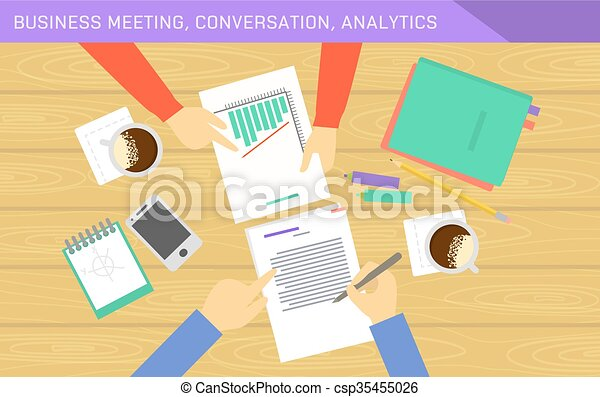 Business analytics and financial audit. - csp35455026