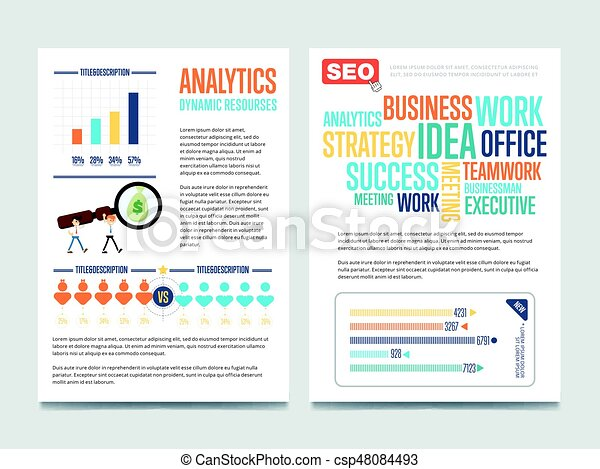 Business Analytic Banners 28mm Banners