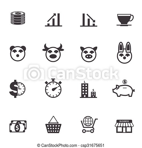 Business and Finance Icons - csp31675651