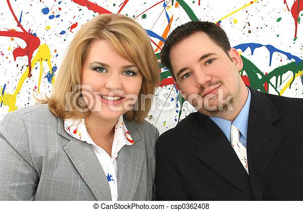 Business Associates - csp0362408