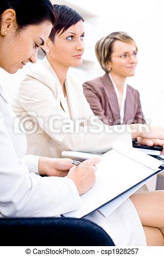Business Attendees - csp1928257