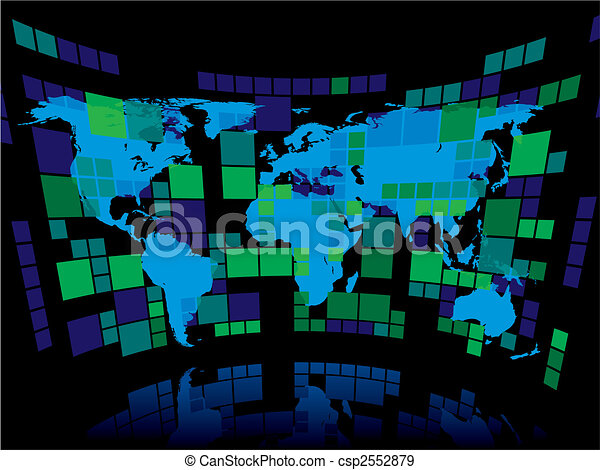 Business background abstract business background with a blue world business background csp2552879 gumiabroncs Choice Image