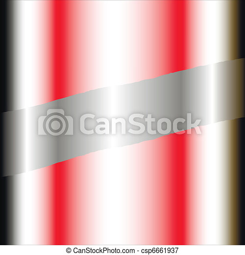 Business background silver and red - csp6661937
