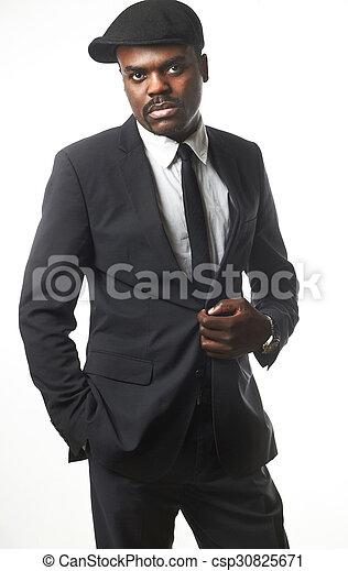 business black man - csp30825671