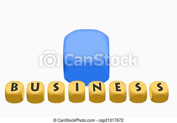 Business Blocks Concept - csp21017672
