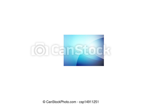Business blue wave template - csp14911251