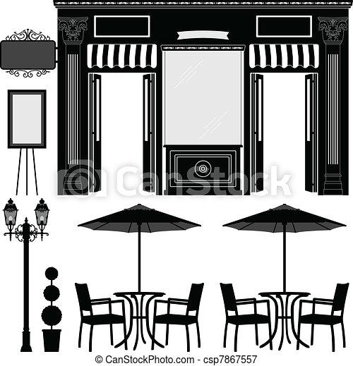 Business Boutique Shop Store - csp7867557