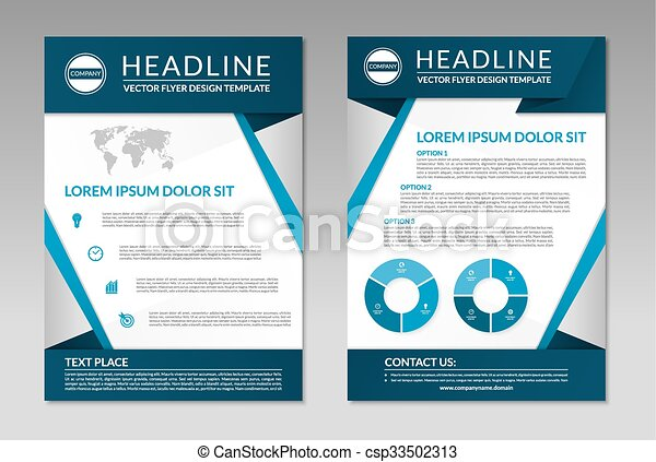 Business brochure flyer design template a4 size brochure flyer business brochure flyer design template a4 size csp33502313 accmission Choice Image