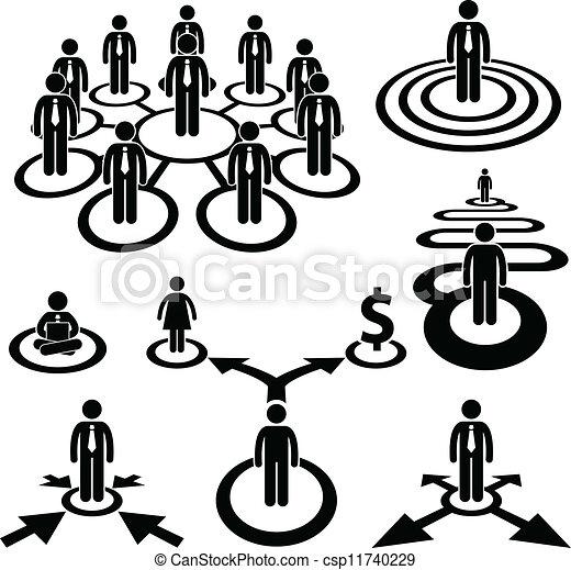 Business Businessman Workforce Team - csp11740229