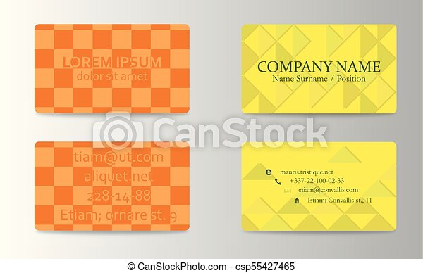 Business card background design template stock vector illustration business card background design template stock vector illustration reheart Images