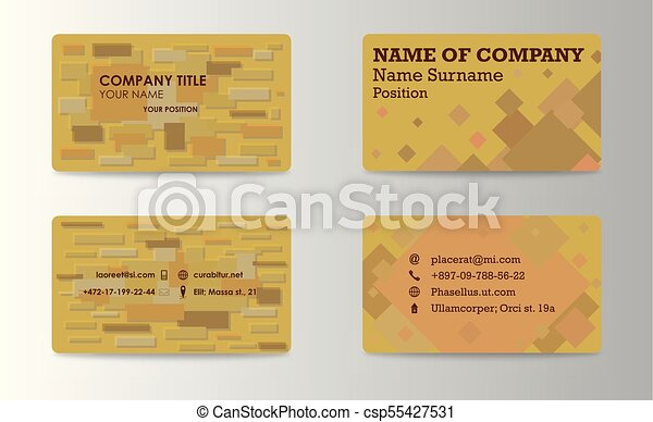 Business card background design template stock vector vectors business card background design template stock vector illustration reheart Images