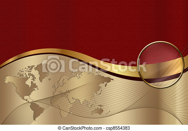 Business card background corporate design backgroundgold card stock illustration business card background csp8554383 reheart Image collections