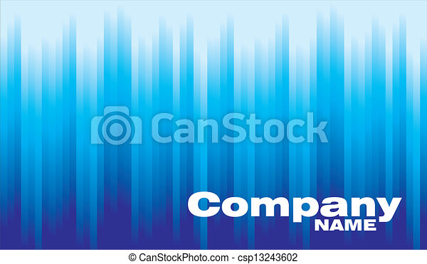 Business Card Background Blue Lines Business Company Card Background