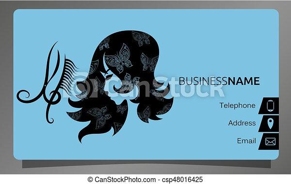 Business card for beauty salon concept a business card for a beauty business card for beauty salon concept csp48016425 colourmoves