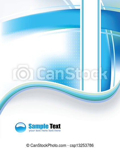 Business Card for covers - csp13253786