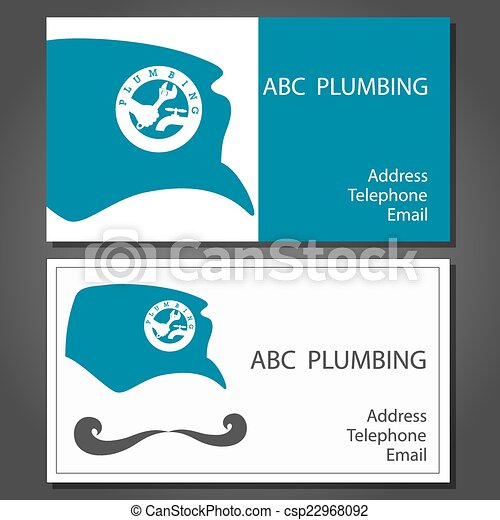 Business card for repair plumbing vector eps vectors search business card for repair plumbing vector reheart Gallery