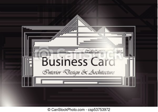 Business card interior design and architecture black color business card interior design and architecture black color abstract modern backgrounds csp53753972 reheart Image collections