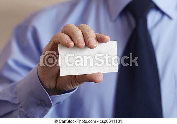 business card - csp0641181