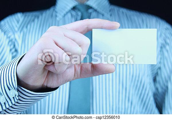 business card - csp12356010