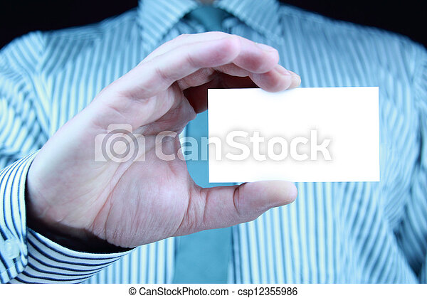 business card - csp12355986