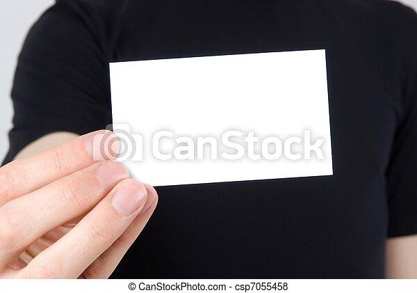business card - csp7055458
