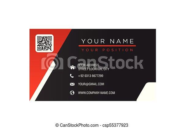 Business card red and black background vector image business card red and black background vector image reheart Images