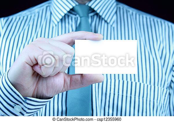 business card - csp12355960