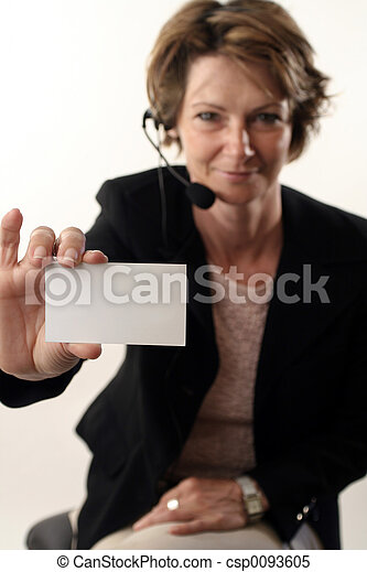 business card - csp0093605