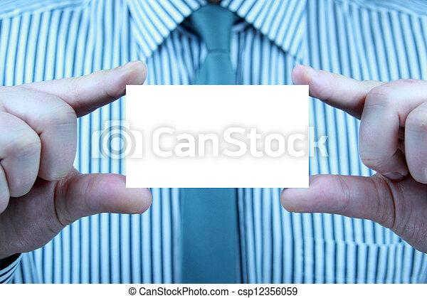business card - csp12356059