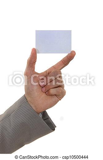 Business card - csp10500444