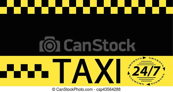 Business card taxi banner business card template for round the business card taxi banner csp43564288 reheart Image collections