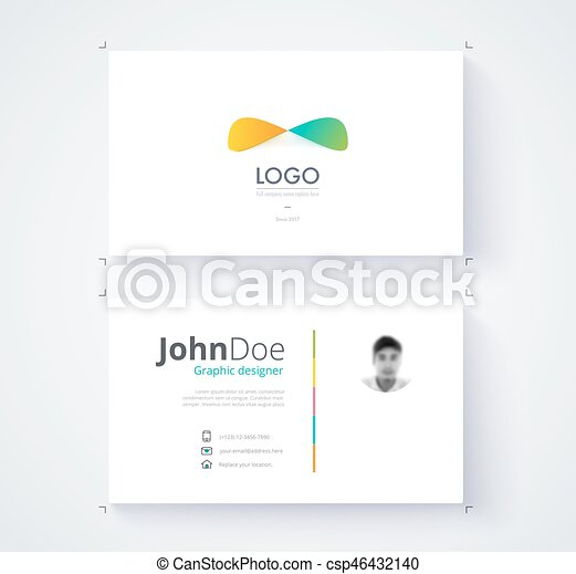 Business card template commercial design vector eps vector business card template commercial design vector illustration reheart Gallery