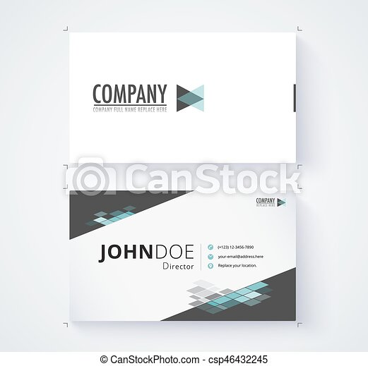 Business card template commercial design vector eps vector business card template commercial design vector illustration wajeb Images