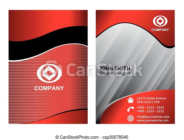 Business card template eps vector search clip art illustration business card template csp30078545 cheaphphosting Gallery