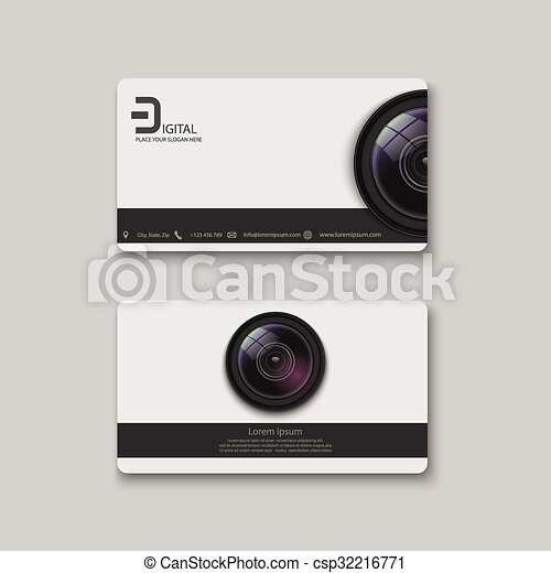 Business card templatephotography reheart Image collections
