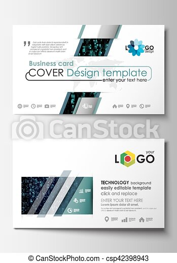 Business card templates cover design template easy editable blank business card templates cover design template easy editable blank flat layout virtual wajeb Images