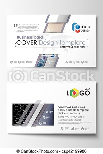 Business card templates cover template easy editable abstract business card templates cover template easy editable abstract flat design vector layout reheart Images