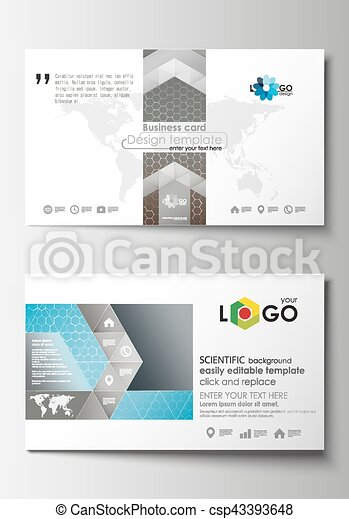 Business card templates cover template easy editable blank business card templates cover template easy editable blank abstract flat layout scientific accmission Choice Image