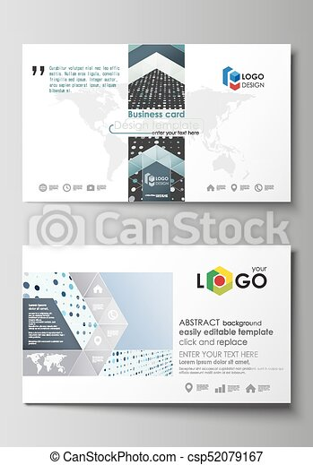 Business card templates easy editable layout abstract template business card templates easy editable layout abstract template soft color dots with illusion of flashek Gallery
