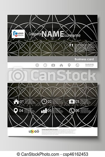 Business card templates easy editable layout vector design business card templates easy editable layout vector design template celtic pattern ornament flashek Gallery