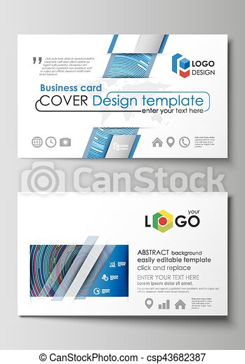 Business card templates easy editable layout abstract vector business card templates easy editable layout abstract vector design template blue color fbccfo Choice Image