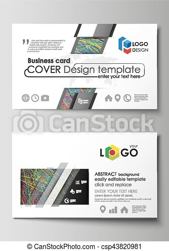 Business card templates easy editable layout vector design business card templates easy editable layout vector design template colorful dark background with friedricerecipe Gallery