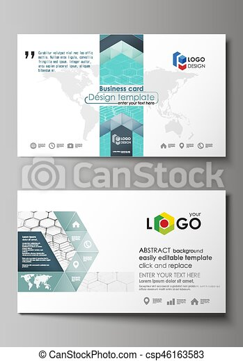 Business card templates easy editable layout abstract vector business card templates easy editable layout abstract vector design template chemistry pattern wajeb Image collections