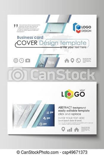 Business card templates easy editable layout abstract vector business card templates easy editable layout abstract vector design template chemistry pattern flashek Gallery